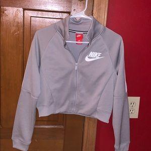 Cropped Nike zip up